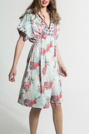 Smash  Floral Vneck Dress - Product Mini Image