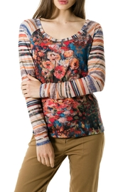 Smash  Monet Garden Top - Front cropped