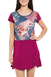 Smash  Multipattern Colors Top - Product Mini Image