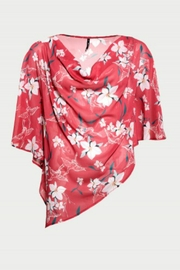 Smash  Red Floral Cape - Product Mini Image