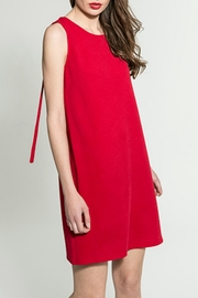 Smash  Red Grommet Dress - Front cropped