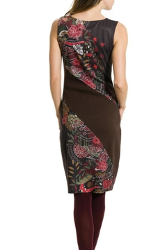 Smash  Sleeveless  Flowered Dress - Alternate List Image