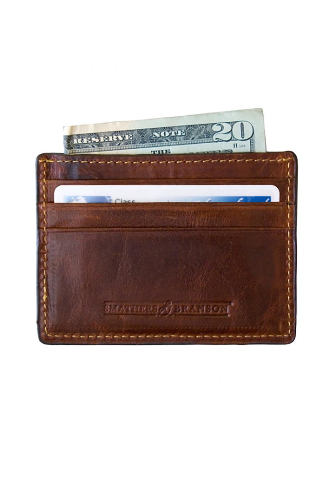 Smathers and Branson A's Creditcard Wallet - Front Full Image