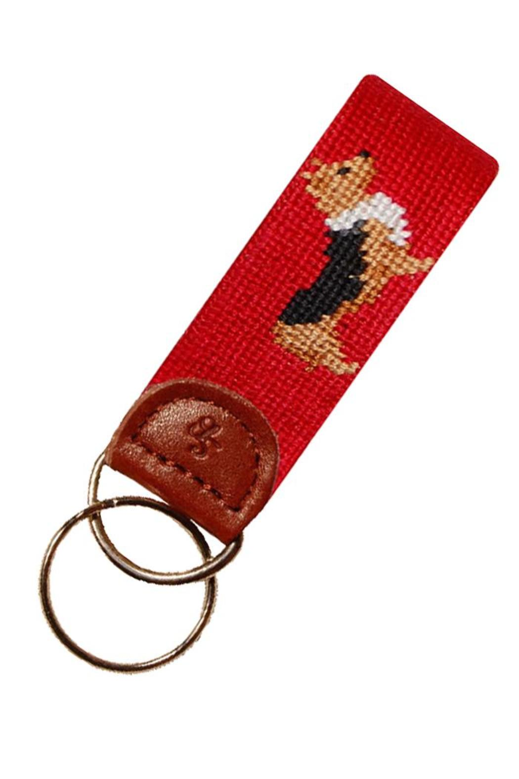 Smathers and Branson Corgi Key Fob - Front Cropped Image
