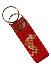 Smathers and Branson Corgi Key Fob - Front full body