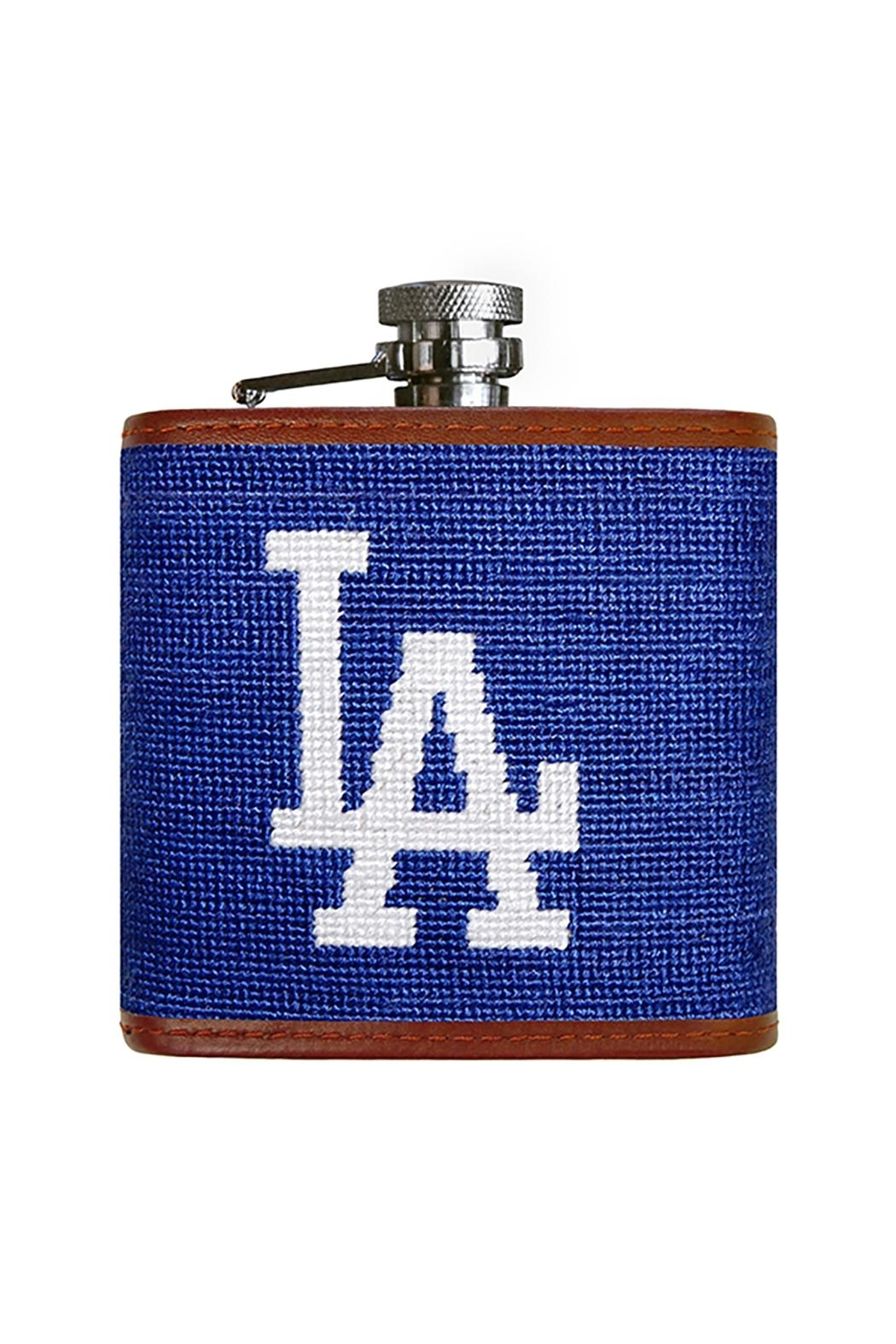 Smathers and Branson La Dodgers Flask - Front Cropped Image