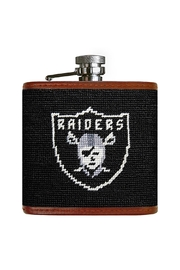 Smathers and Branson Oakland Raiders Flask - Front cropped