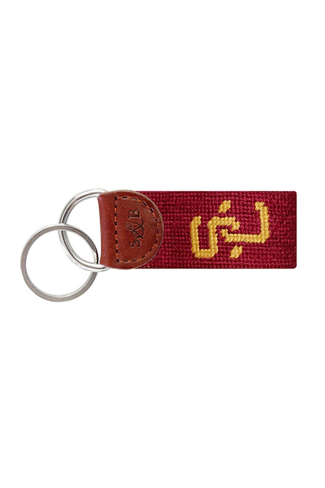 Smathers and Branson Usc Key Fob - Front Cropped Image