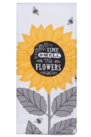 Kay Dee Designs Smell the Flowers Terry Towel - Product Mini Image