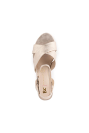Seychelles Smell The Roses Heel - Back cropped