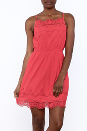 Smell the Roses Red Brunch Dress - Product Mini Image
