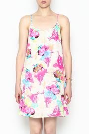 Smell the Roses Tropical Macy Dress - Front cropped