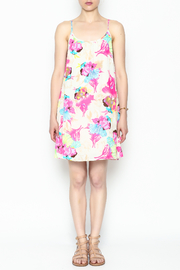 Smell the Roses Tropical Macy Dress - Front full body