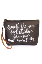 Riah Fashion Smell-The-Sea Cosmetic Bag - Product Mini Image