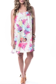 Smell the Roses Floral Dress - Front cropped