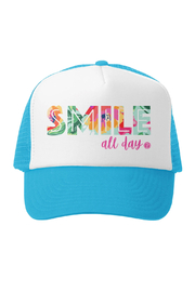 Grom Squad Smile All Day Trucker Hat - Product Mini Image