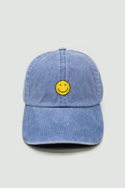 david and young Smile Face Embroidered Cap - Product Mini Image