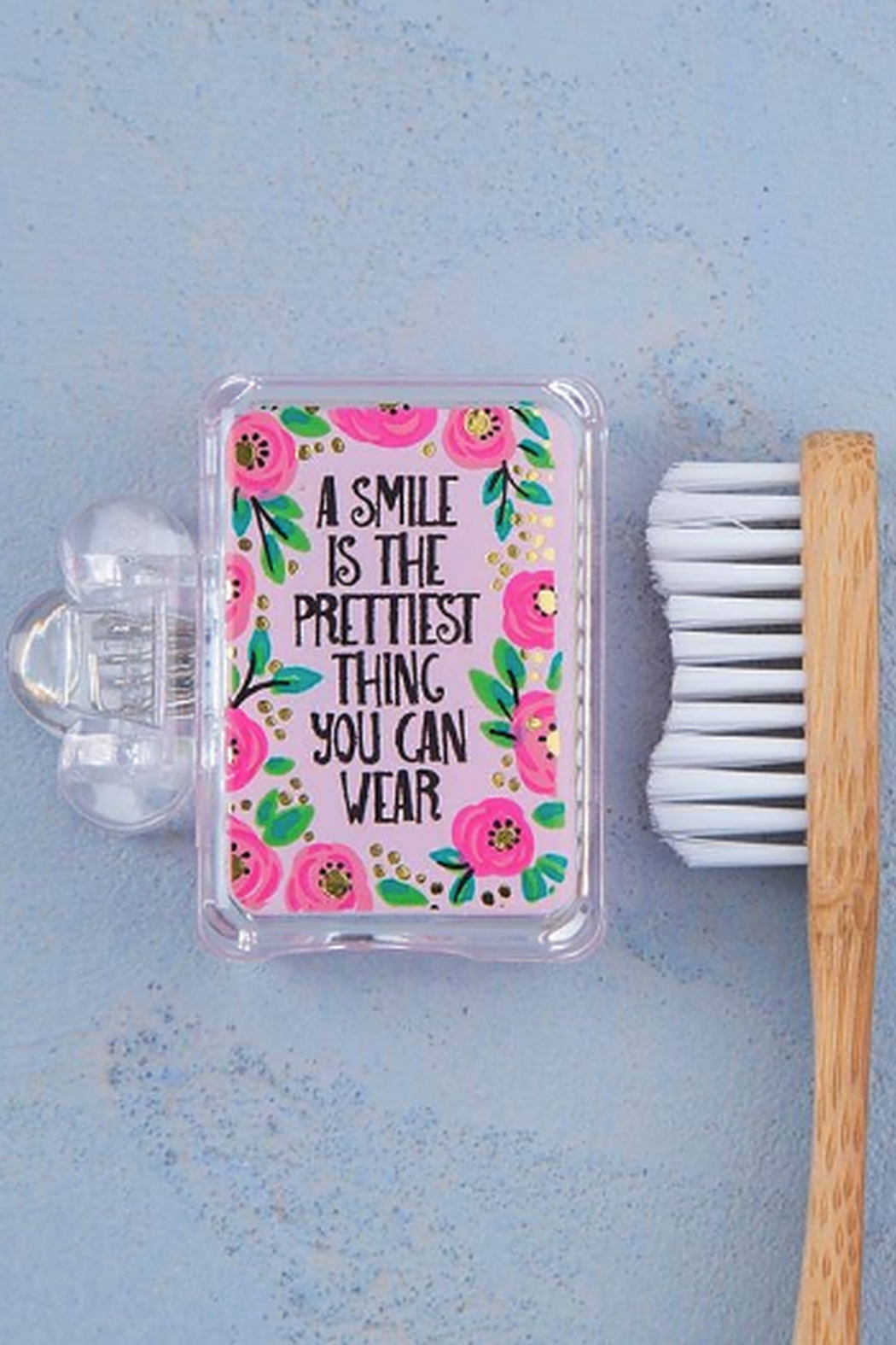 Natural Life Smile is the Prettiest Toothbrush Cover - Main Image