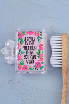 Natural Life Smile is the Prettiest Toothbrush Cover - Alternate List Image