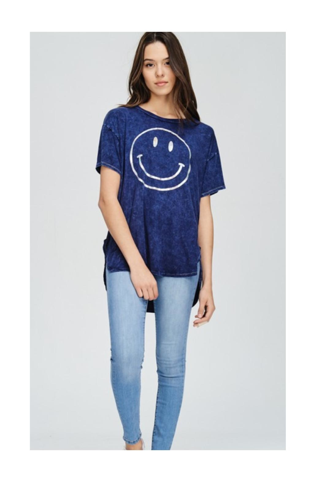 Polly & Esther Smiley Face T-Shirt - Main Image