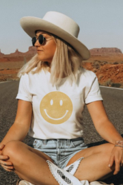 Oat Collective Smiley Face Tee - Product Mini Image