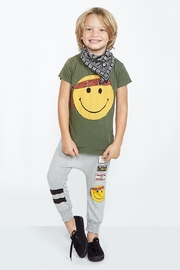 Lauren Moshi Smiley Face Tee - Product Mini Image