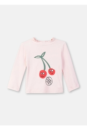 Stella McCartney Kids Smiling Cherry Swim-Top - Front cropped