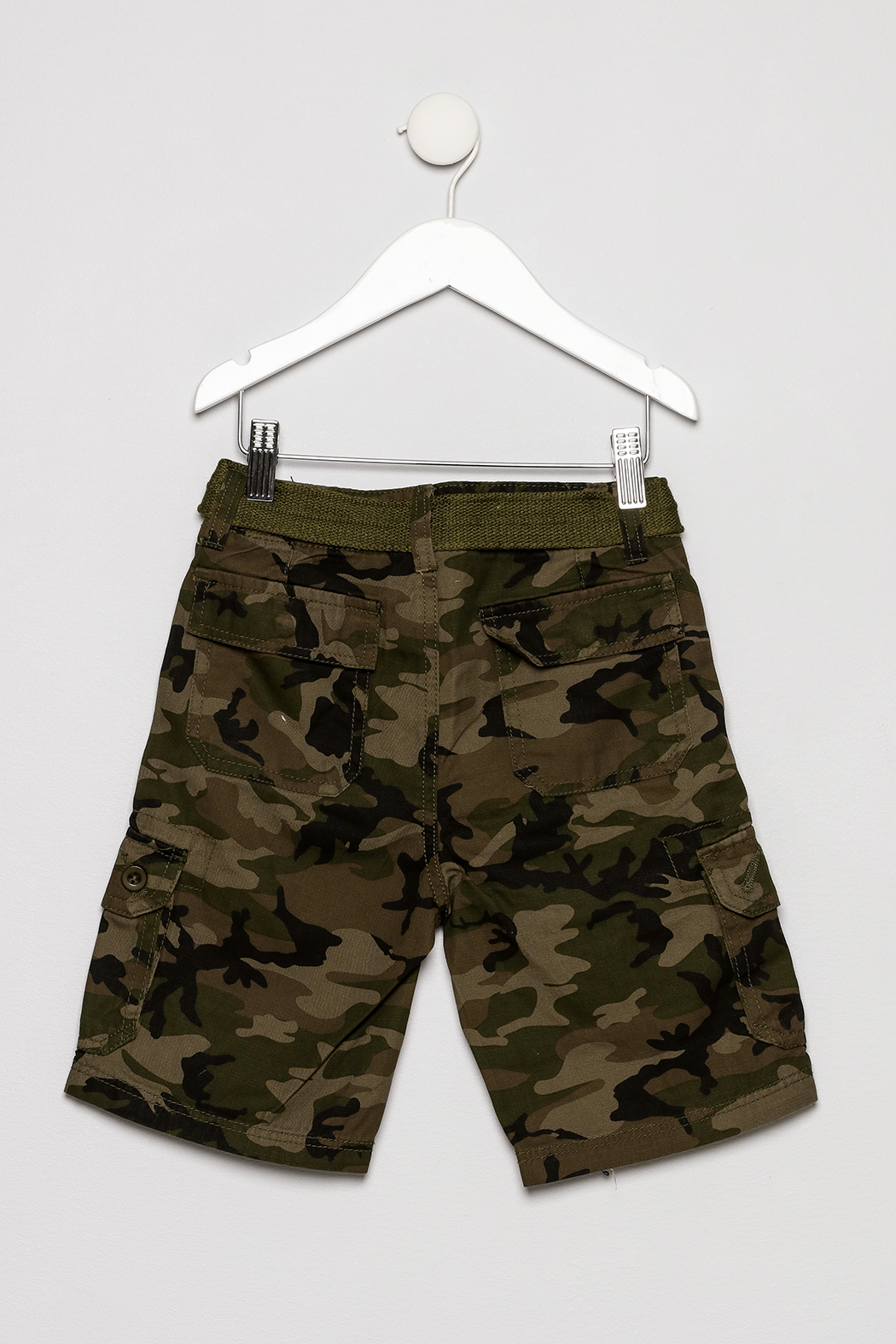 Smiths American Cargo Shorts - Back Cropped Image