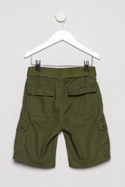 Smiths American Olive Cargo Short - Back cropped