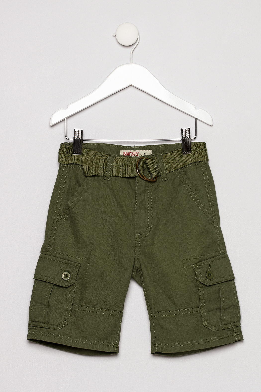 Smiths American Olive Cargo Short - Main Image