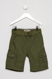 Smiths American Olive Cargo Short - Front cropped