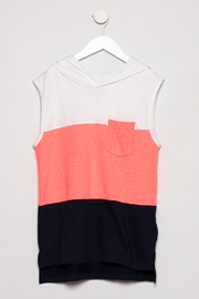 Smiths American Sleeveless hoodie - Front cropped