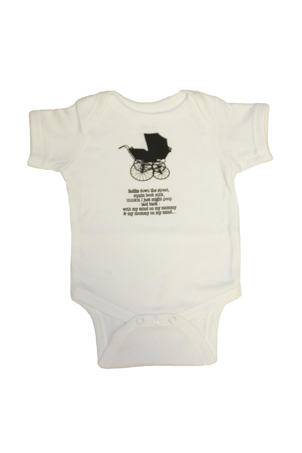 Smitten Boutique Rollin Carriage Onesie - Front Full Image