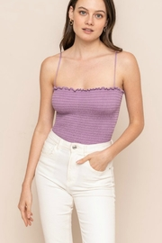All In Favor Smock Bodysuit - Front cropped