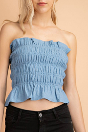 lelis Smock tube top - Product Mini Image