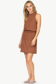 Lilla P Smock waist detail dress - Front cropped