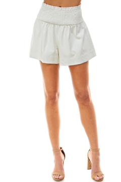 TCEC Smock Waist Leather Short - Product List Image