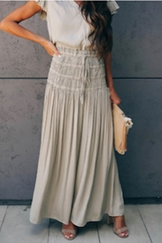 Current Air Smock Waist Maxi Skirt OR Dress - Product Mini Image