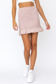 Le Lis Smocked Butterfly Skirt - Product Mini Image