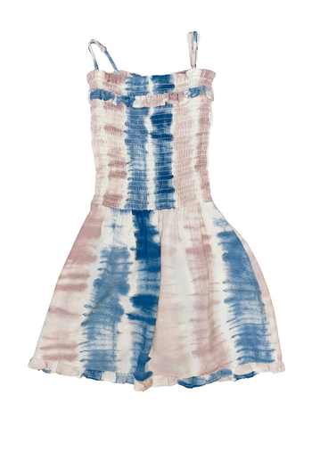Vintage Havana  Smocked Cotton Candy Dress from Las Vegas by Matriarch by R+D — Shoptiques