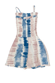 Vintage Havana  Smocked Cotton Candy Dress - Product Mini Image