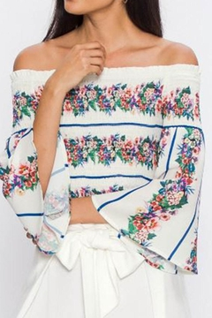Shoptiques Product: Smocked Floral Top