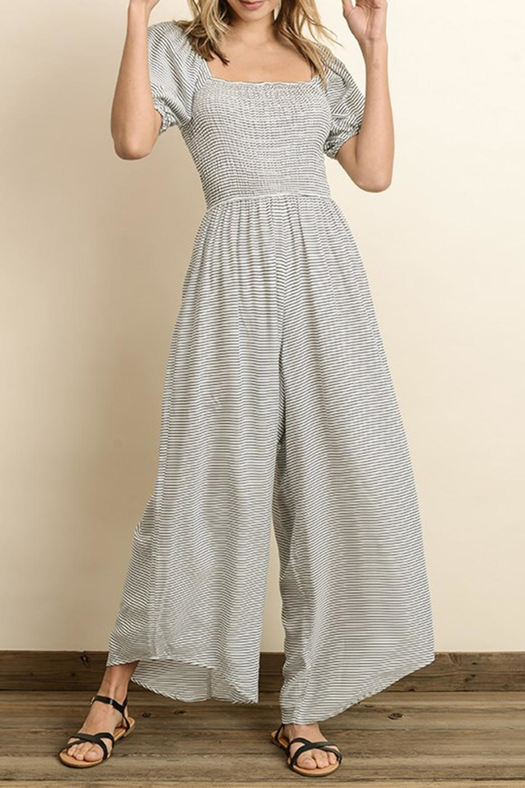 2059bfd2c4 dress forum Smocked Jumpsuit from New York by Dor L Dor — Shoptiques
