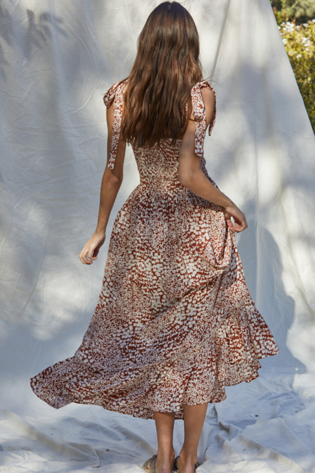 By Together  Smocked Maxi Dress - Side Cropped Image