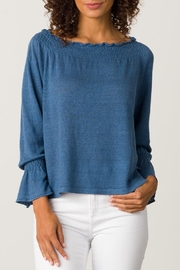 Margaret O'Leary Smocked Pullover - Front cropped