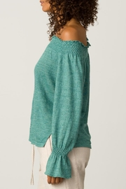 Margaret O'Leary Smocked Pullover - Front full body