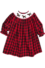 Bailey Boys Smocked Puppy Dog Bishop Dress - Product Mini Image