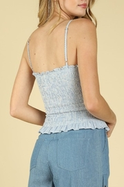 Wild Honey Smocked Striped Top - Side cropped
