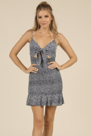 Ocean Drive Smocked Tie Front Dress - Product Mini Image