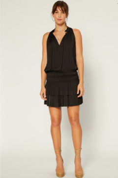 Shoptiques Product: Smocked & Tiered Ruffle Drop Waist Dress